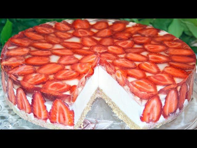 Торт без выпечки суфле с фруктами рецепт 151