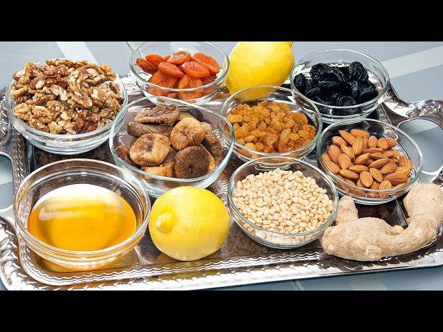 Иммунная смесь из сухофруктов и орехов