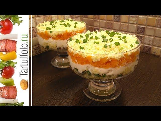 Быстрый простой салат на праздничный стол рецепты с фото