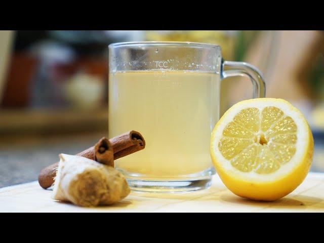 Как сделать напиток с имбирем и лимоном  192