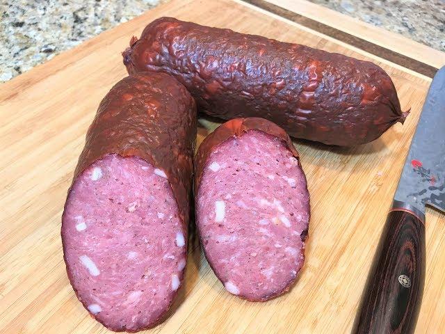 Рецепт колбасы вареной своими руками